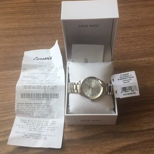 💯% authentic Nine West watch